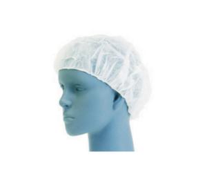 HAIR CAP NYLON BLUE AND WHITE