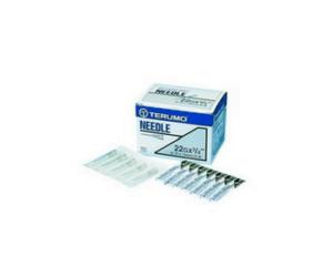 Terumo Disposable Needle 22Gx1''